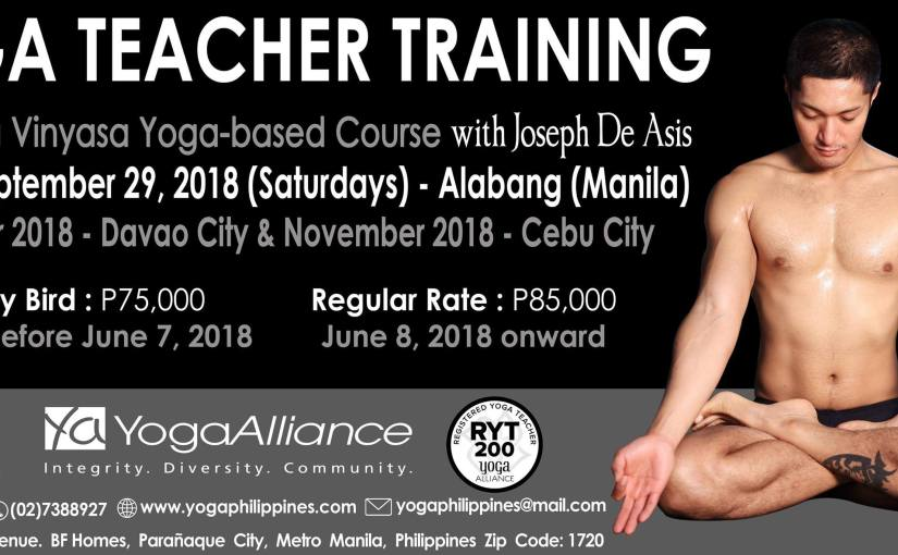 Teacher Training 2018